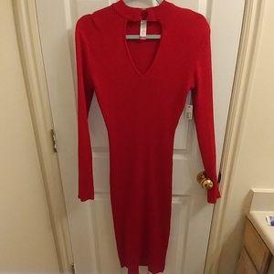 NWOT No Boundaries sweater dress